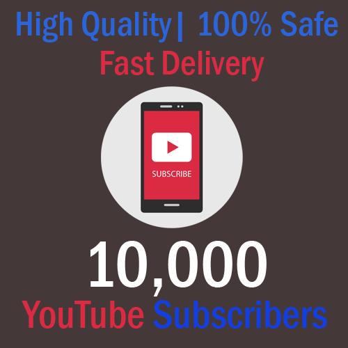 Buy 10,000 YouTube Subscribers