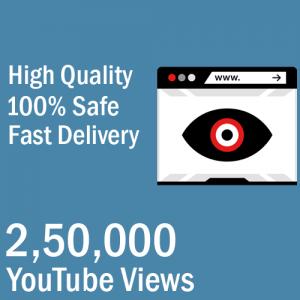 250000 YouTube Views