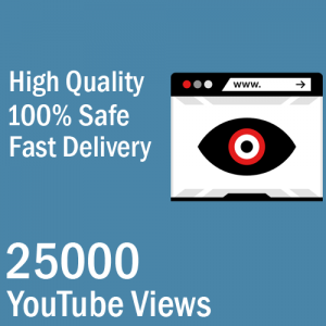 Buy 25000 YouTube Views