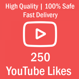 Buy 250 YouTube Likes