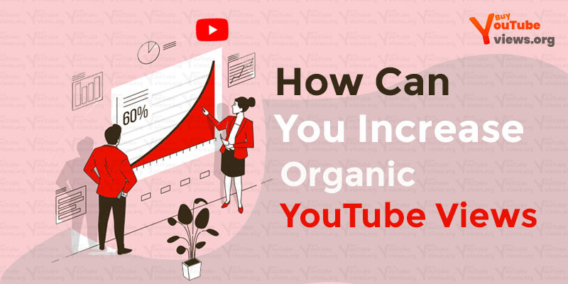 how can you increase organic youtube views